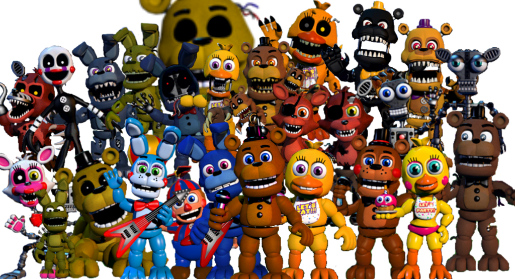 Fnaf world png. Image thankyou jpg edition
