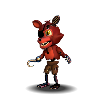 Fnaf world png. Extras withered foxy by