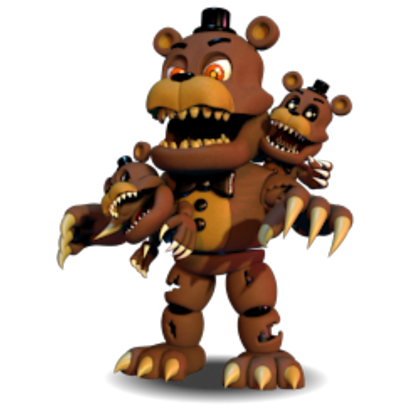 Fnaf world png. F n a nightmare
