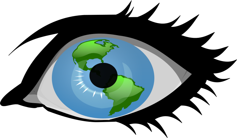Focus clipart eyesight. Vision panda free images