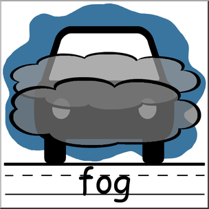 Fog clipart. Clip art weather icons
