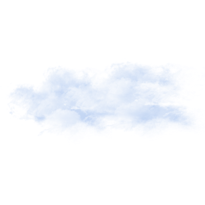 Clouds transparent png. Dirty fog stickpng blue