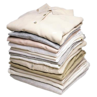 Folded clothes png. Montclair laundry services wash