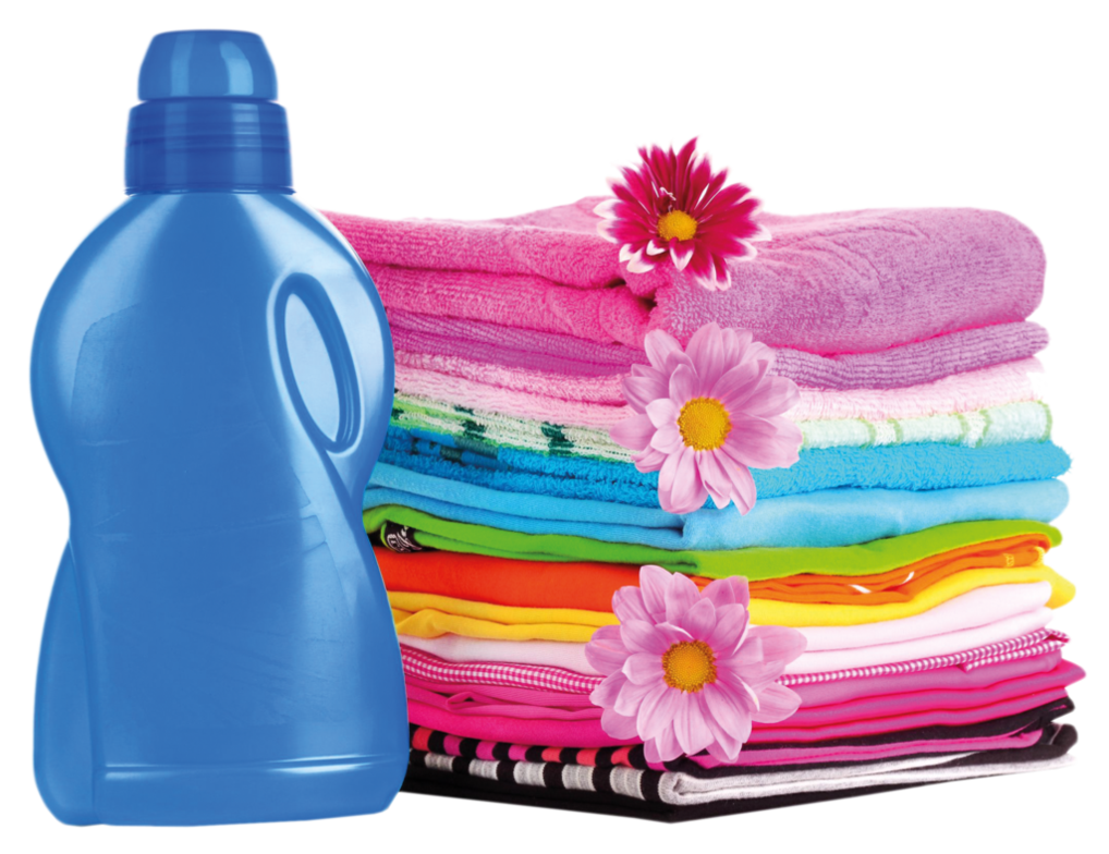 Folded clothes png. And detergent by jabernoimi