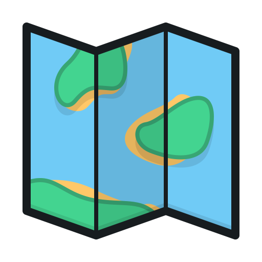 Folded map png. Index of style images