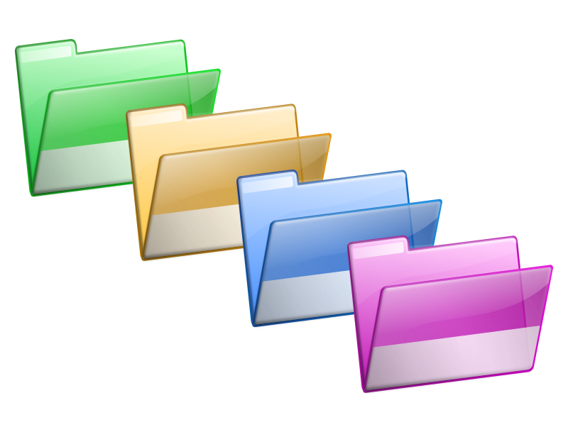 Transparent folders office. What happens if a