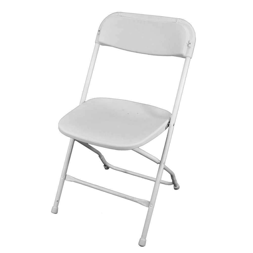 Folding chair png. Hire weddings party chairs