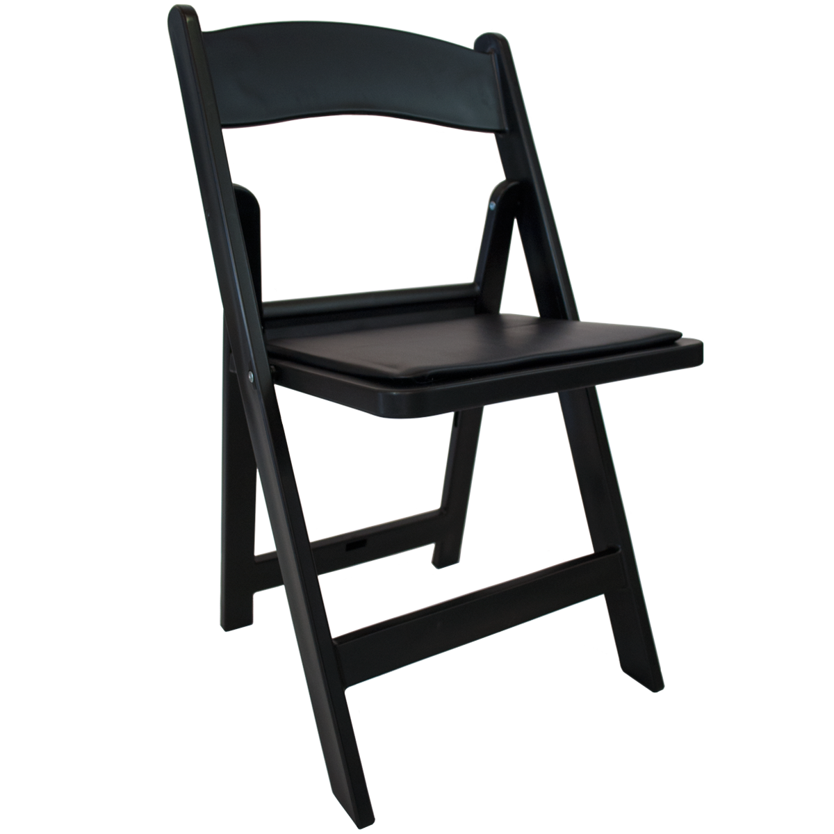 Folding chair png. Padded chairs black celebrations