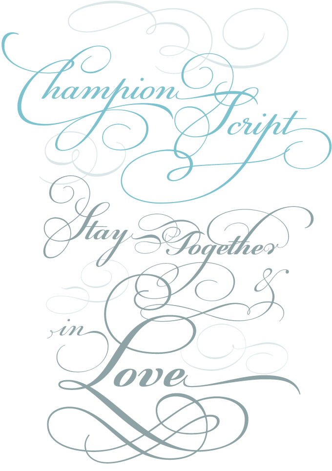 Fonts drawing swirl. Myfonts rising stars june