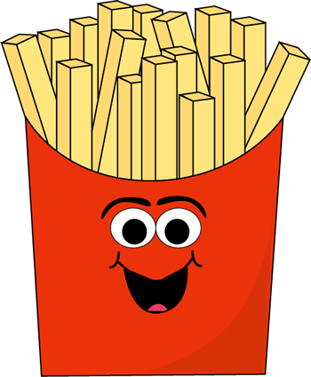 Fries clipart food house. Free cartoon pictures of