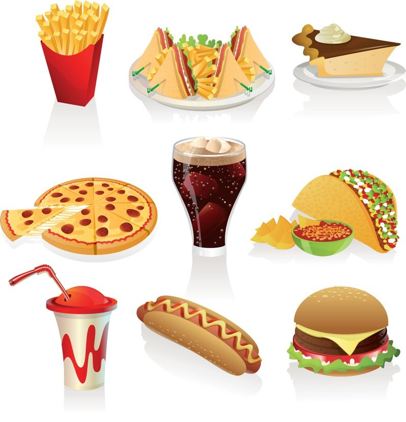 Food clipart junk food. Clip art free downloads