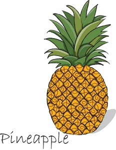 Food clipart pineapple. Free image