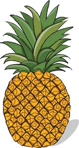 Food clipart pineapple. Free image fresh fruit
