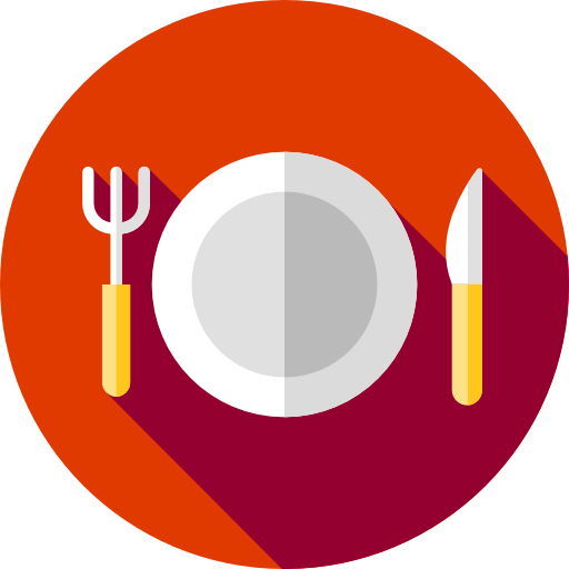 Food icon png. Plate page svg