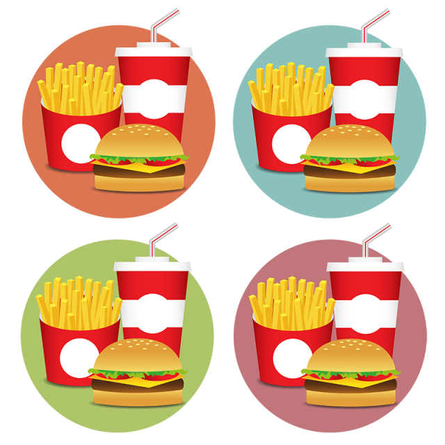 Fesat food icons set. Beef vector png library stock