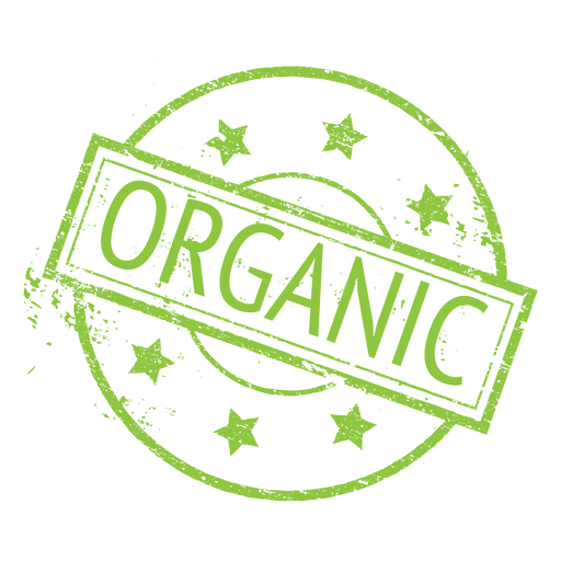 organic label png
