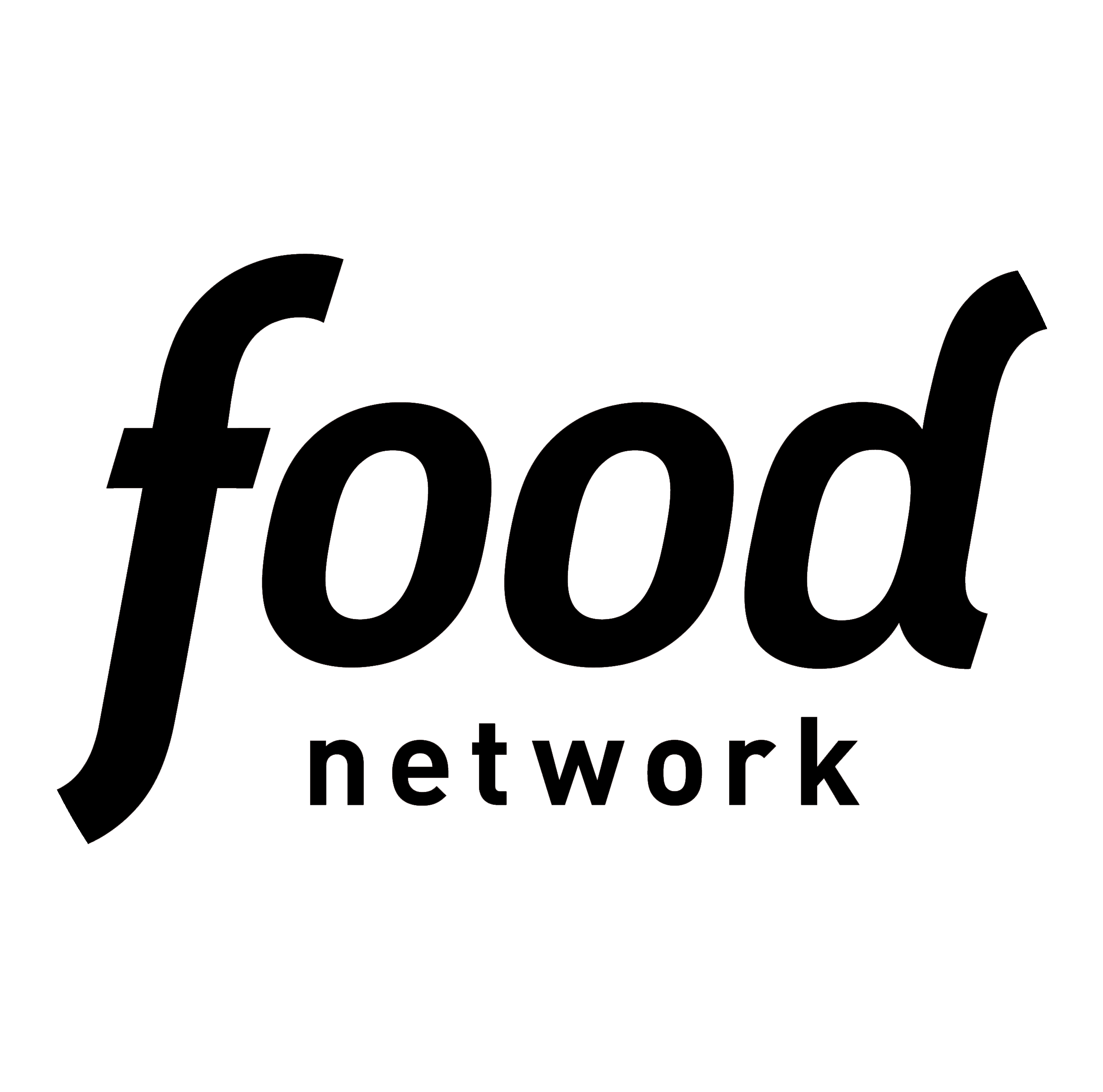 Food network png. Logo white platters chocolates