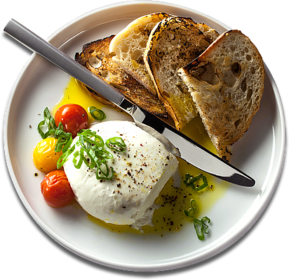 Food plate png. Top view image