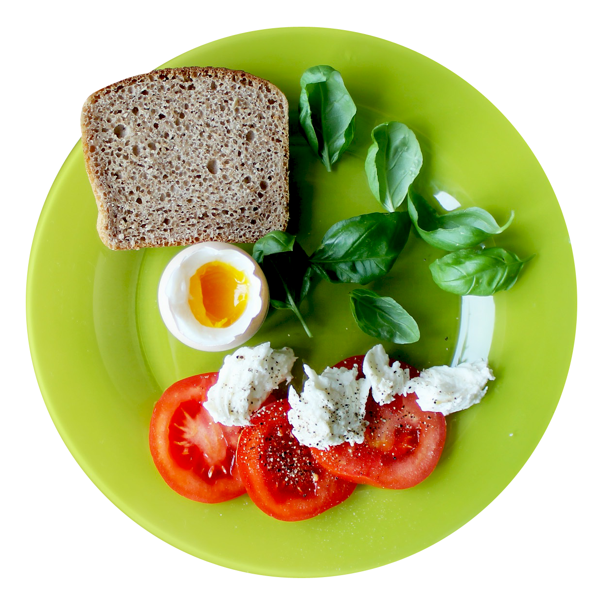 Food plate png. Top view image purepng