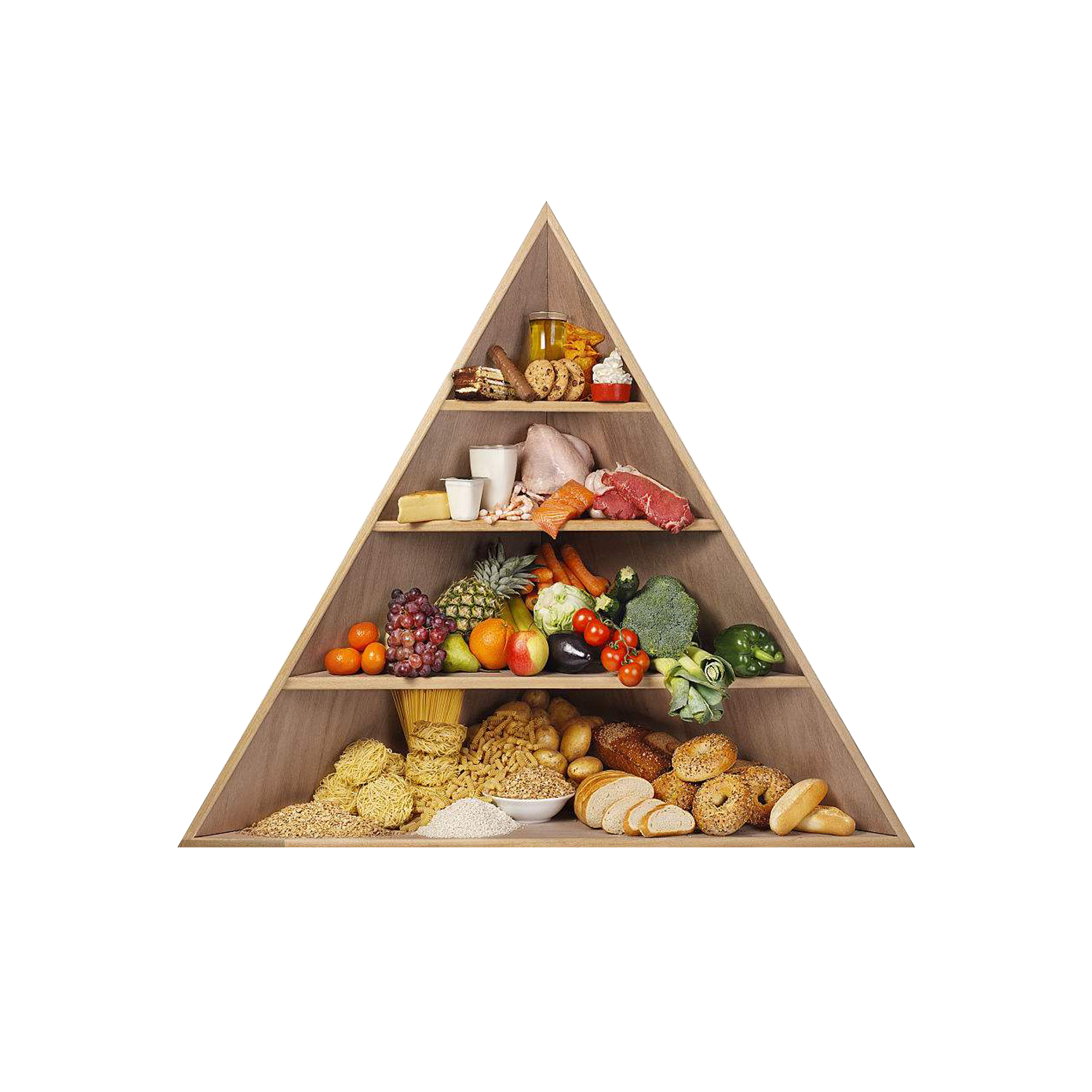Food pyramid png. Nutrient healthy diet nutrition