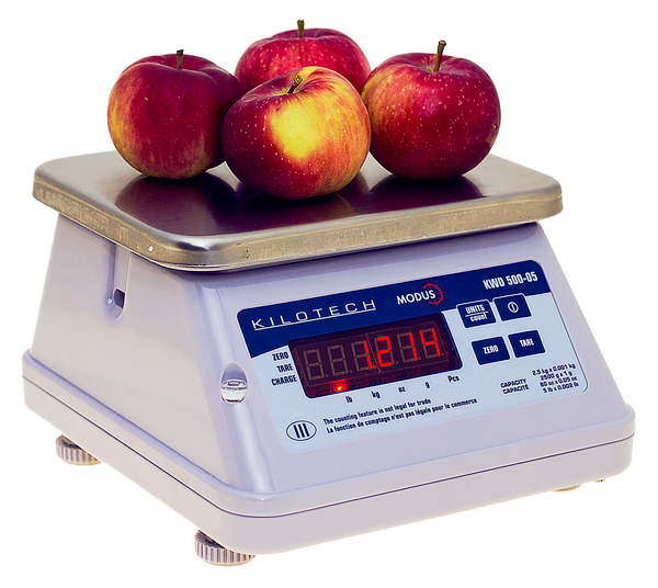Transparent scales food. Kilotech kwd electronic scale