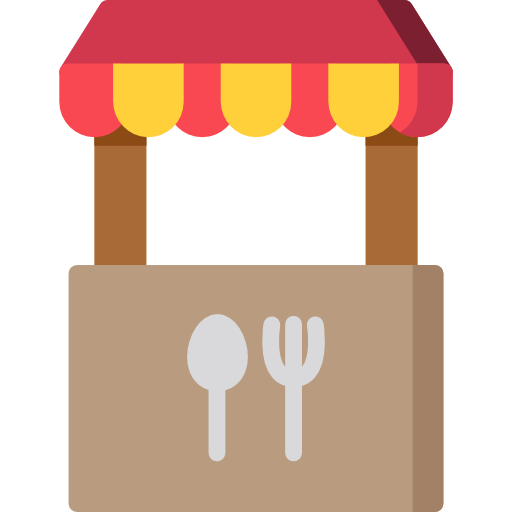 Food stand png