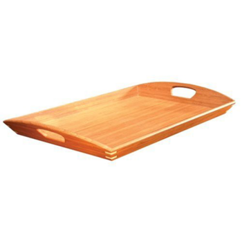 Food tray png. Large wooden breakfast serving