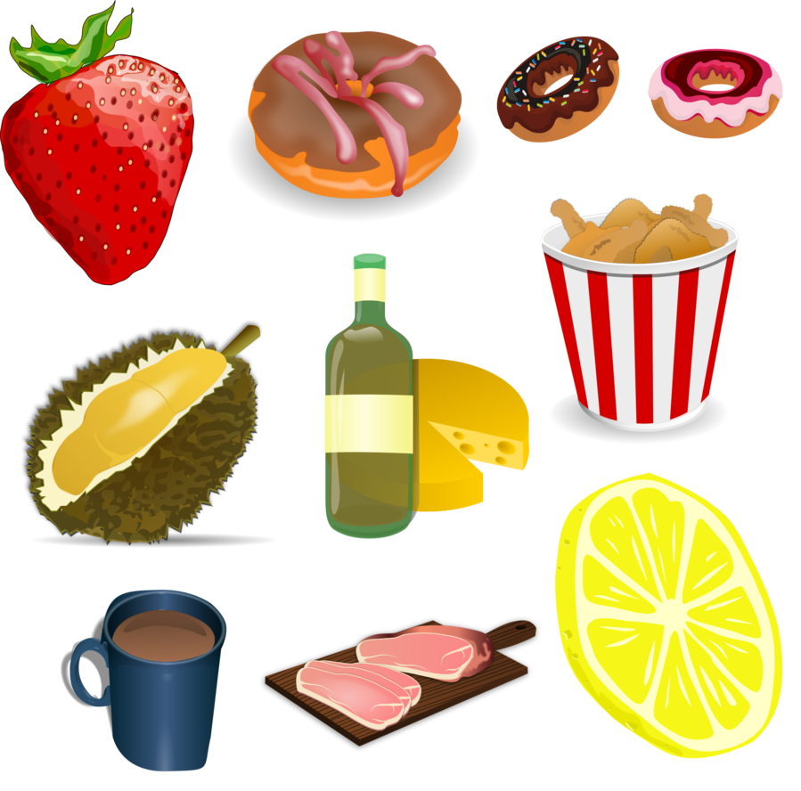 Food vector png. Pack by darkadathea on