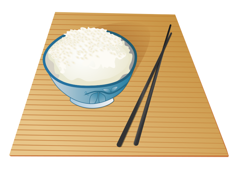 Rice clipart cup rice. Sticky food