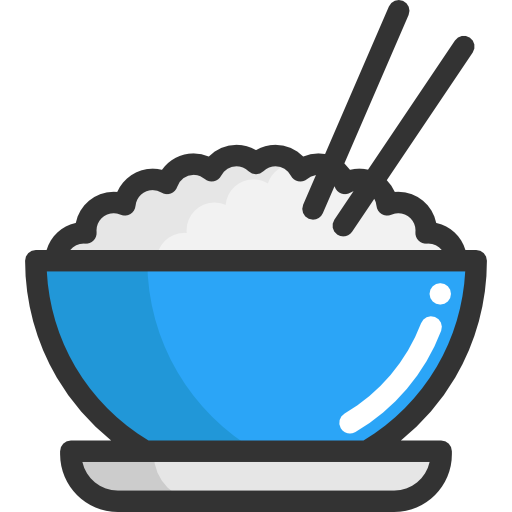 Asian bowl png. Free rice icon download