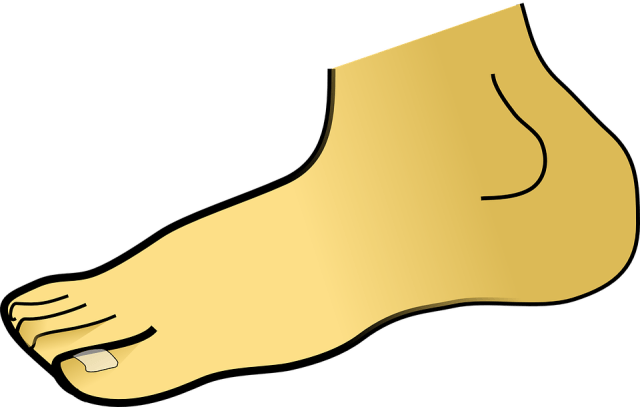 Foot clipart ankle joint. Sprain