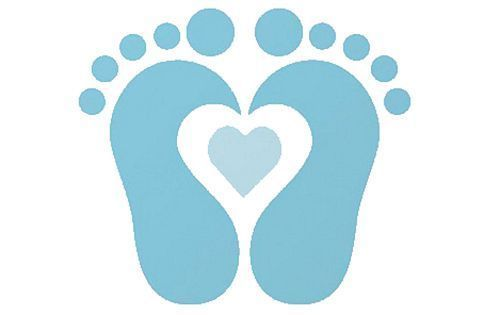 Foot clipart baby boy. Feet color graph and