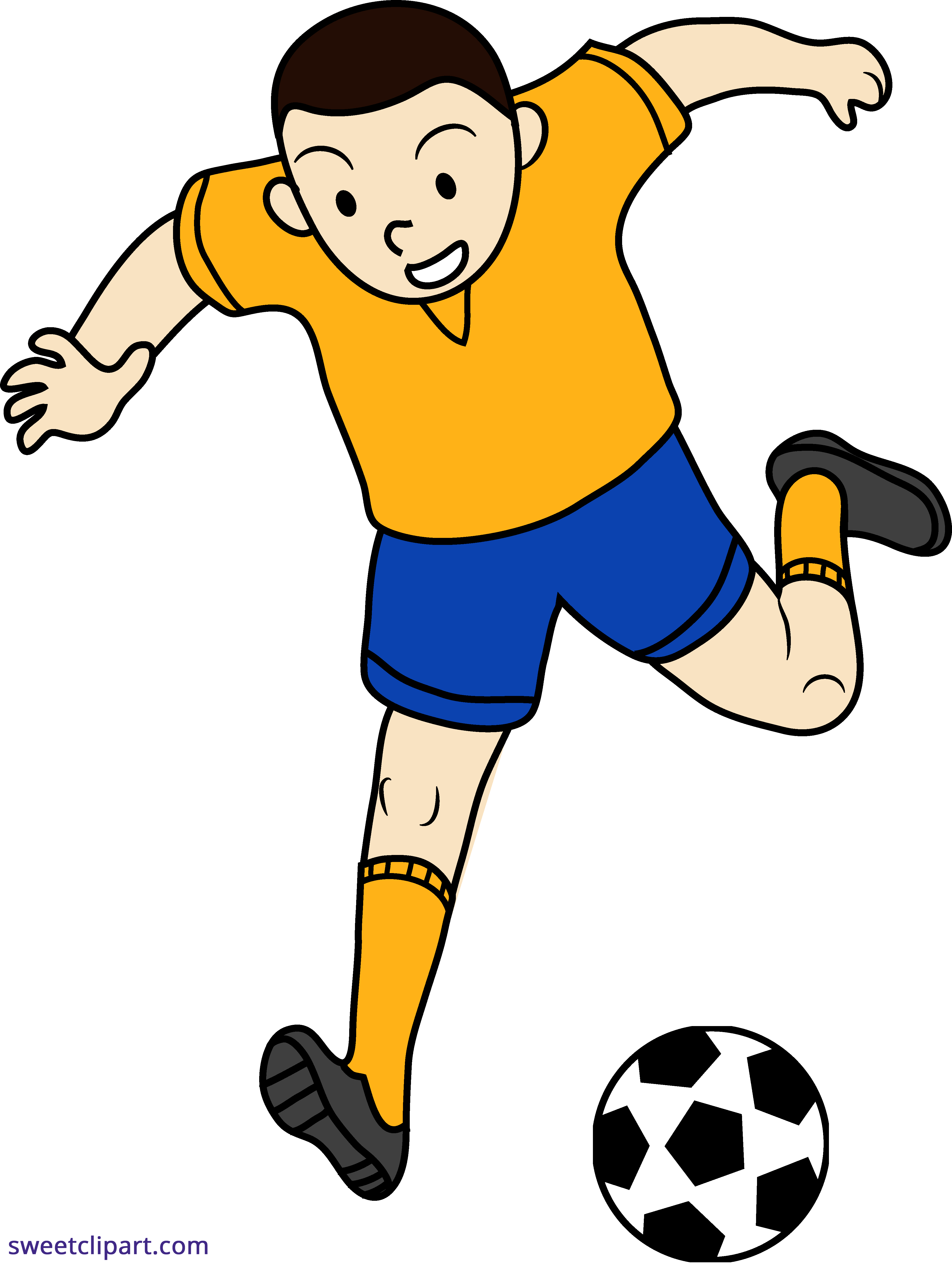 football player clipart png