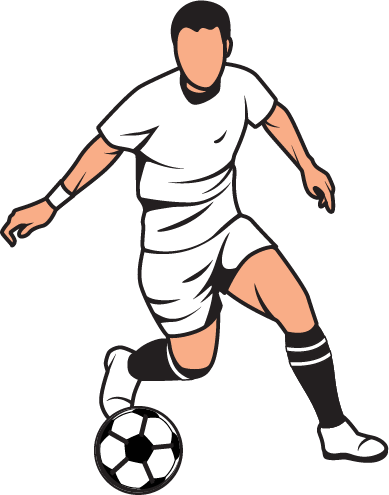 Football clipart. Image of english