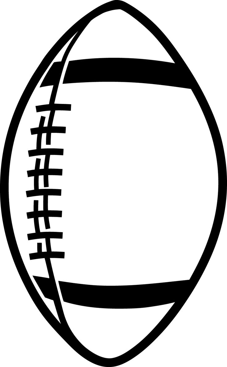 Football clipart. Dragonfly outline panda free