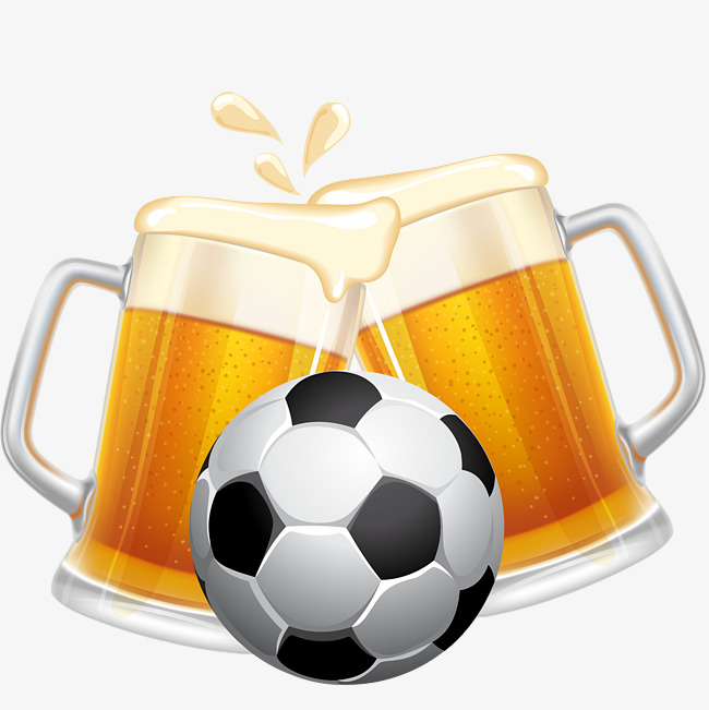 Football clipart beer. Pictures element creative match