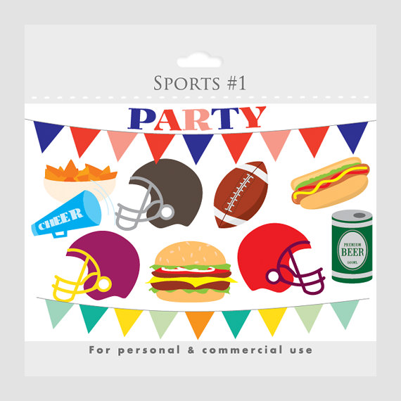 Football clipart beer. Party clip art foot