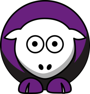 Football clipart eagles. Sheep niagara purple team