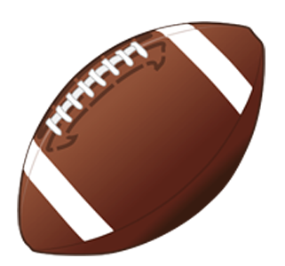 Football clipart fire. Free flying cliparts download