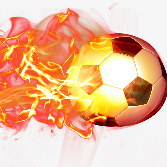 Football clipart fire. Flame effort png image