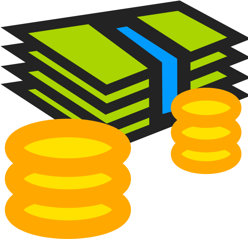 Football clipart money. Download cartoon png image
