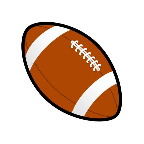 Football clipart sign. Free at getdrawings com