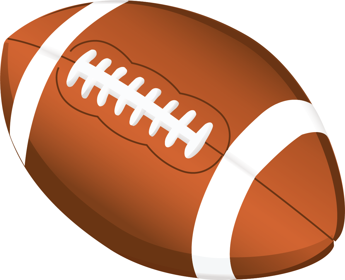 Football clipart. All