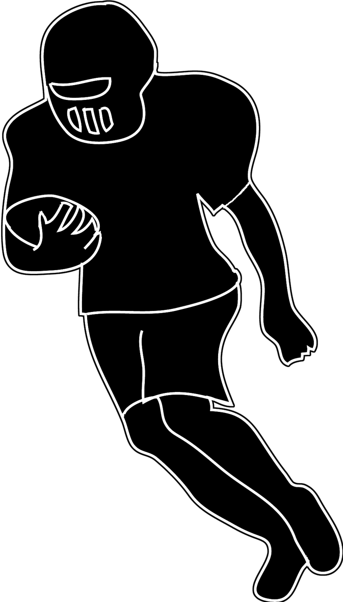 Men clipart football. Different kinds of sports
