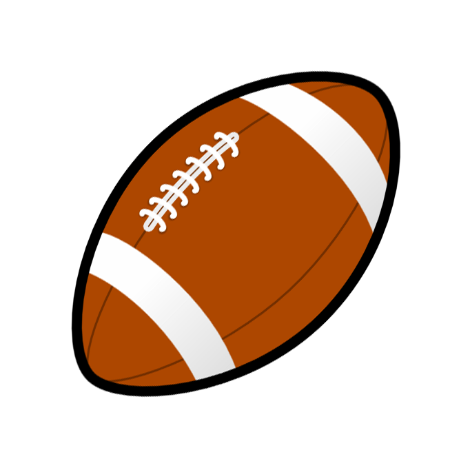 Football png clipart. Game room clip art