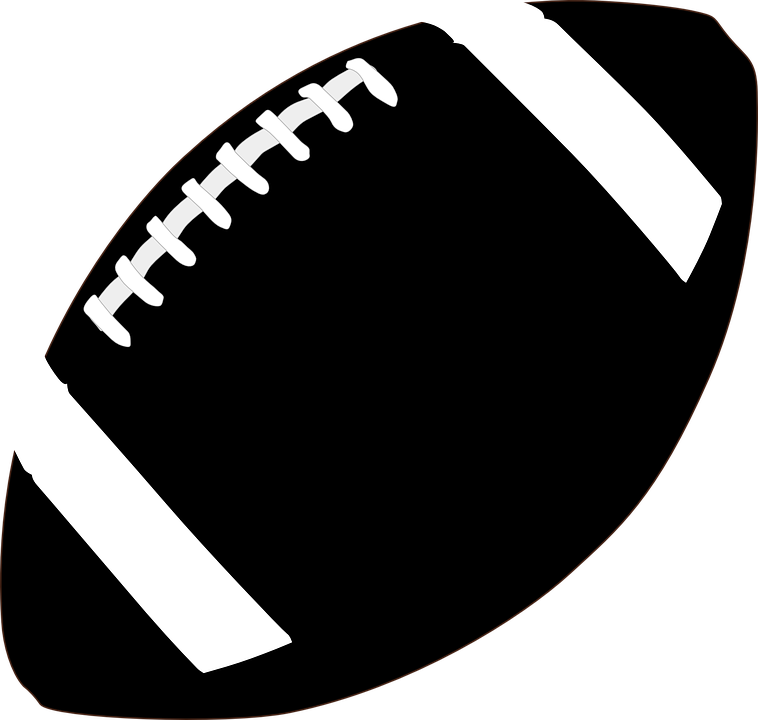 Football png transparent. Black and white image