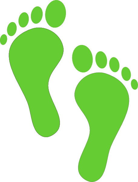 Footprint clipart png. Flesh color