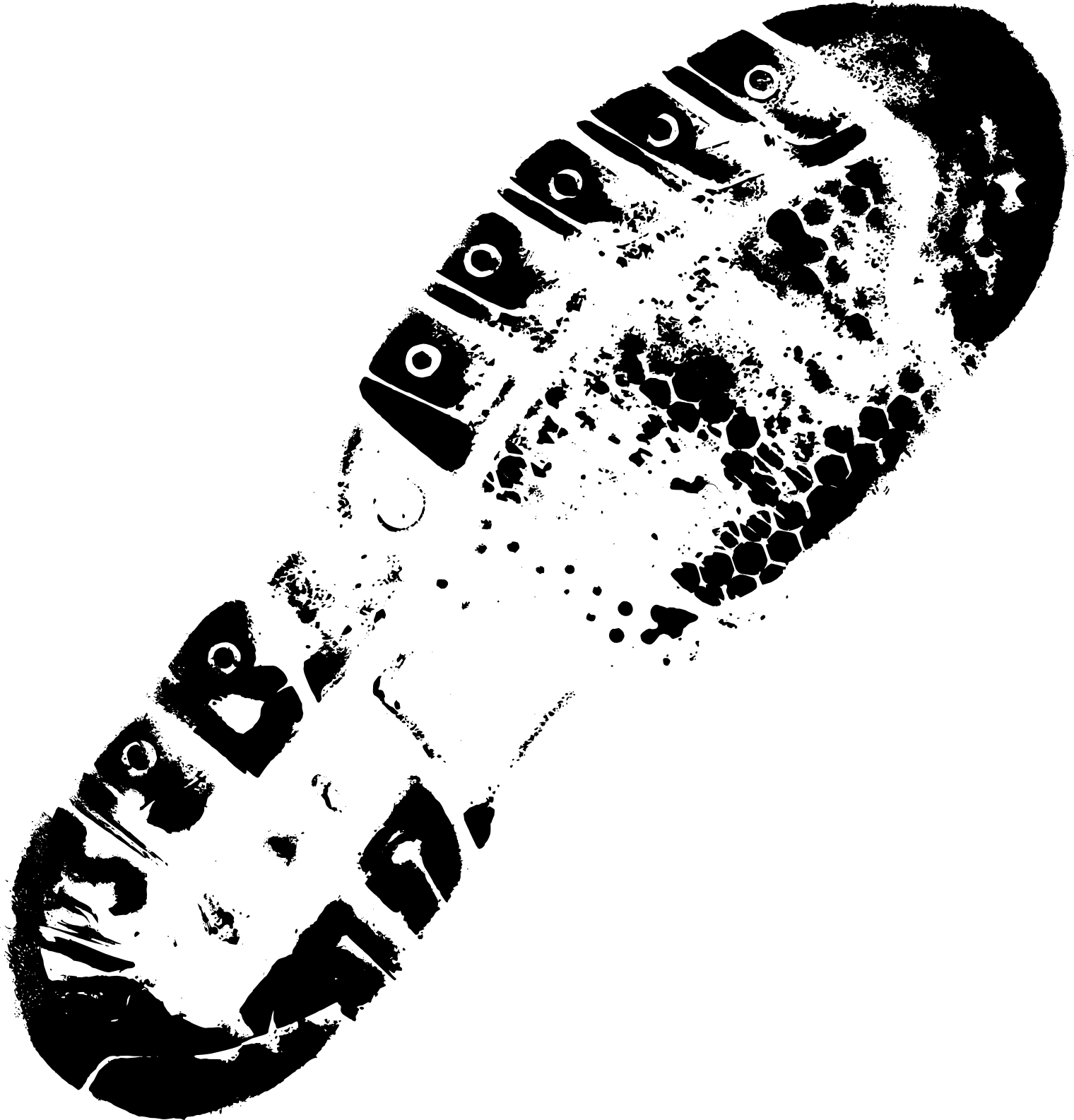 Footprint png. Shoe footprints transparent
