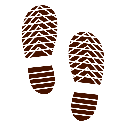 Footprint svg shoe. Human shoes footprints silhouette