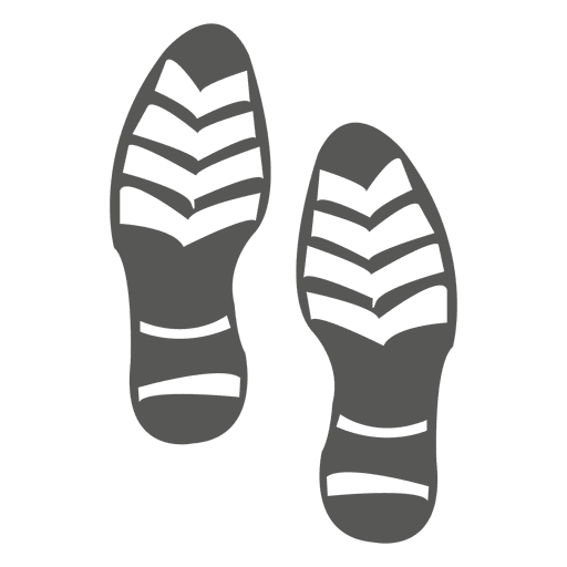 Footprint svg shoe. Male icon transparent png